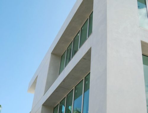Highly Polished Render / Exterior Marmorino